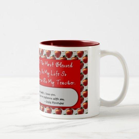 Taza de café del aprecio 15oz del profesor