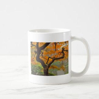 Taza de café del arce japonés