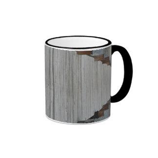 Taza de café del área de embarque