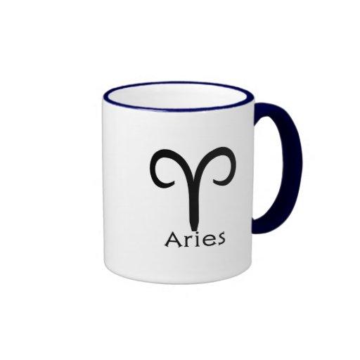 Taza de café del aries