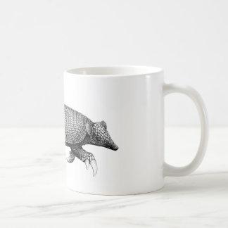 Taza de café del armadillo