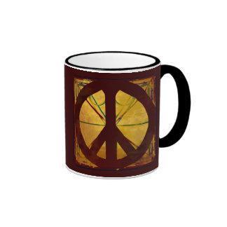 Taza de café del arte de la antigüedad del códice