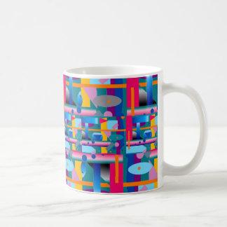 Taza de café del arte moderno