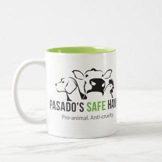 Taza de café del asilo seguro de Pasado