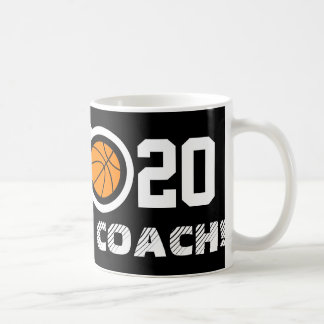 Taza de café del baloncesto del número 20 el Per