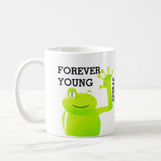 Taza de café del bebé del día de salto del año