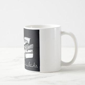 Taza de café del Bel Air de Chevy de la obra clási