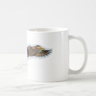 Taza de café del blackduck de la caza del pato