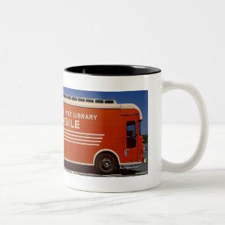 Taza de café del Bookmobile