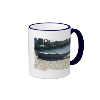 Taza de café del bote