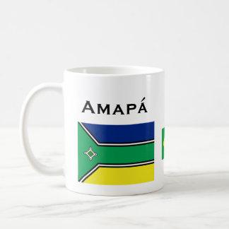 Taza de café del Brasil Amapá*l/Caneca de Amapá