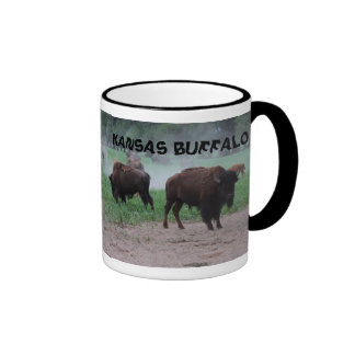 TAZA de café del búfalo de Kansas