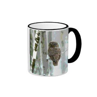 Taza de café del búho