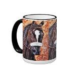Taza de café del caballo