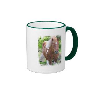 Taza de café del caballo de proyecto