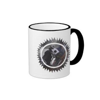 Taza de café del caballo de raza