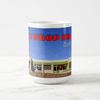Taza de café del café del mesón del descenso de U