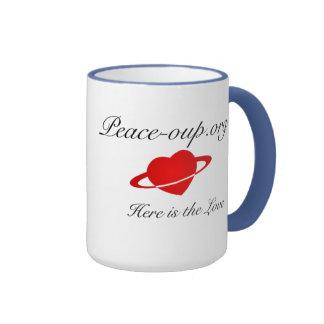 Taza de café del campanero - 15oz. - (Azules