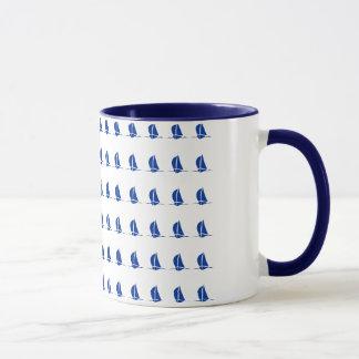 Taza de café del campanero de los barcos de