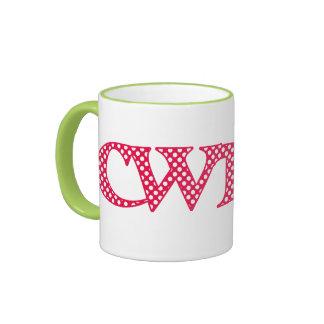 Taza de café del campanero, Galés Cwtch con los