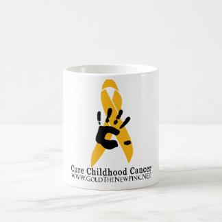 Taza de café del cáncer de la niñez de la CURACIÓN