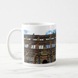 Taza de café del castillo de Heidelberg