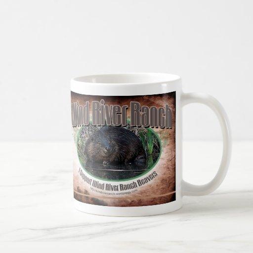 Taza de café del castor de WRR