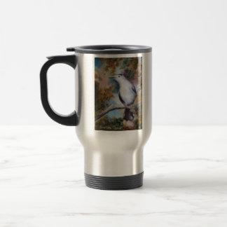 Taza de café del Catbird gris