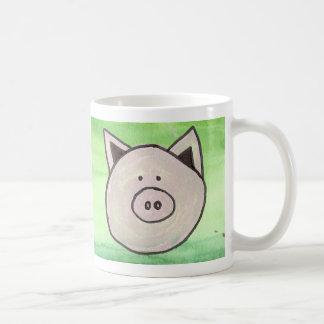 Taza de café del cerdo
