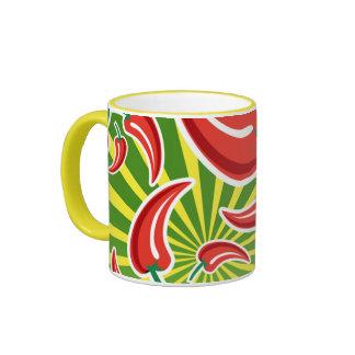 Taza de café del chile