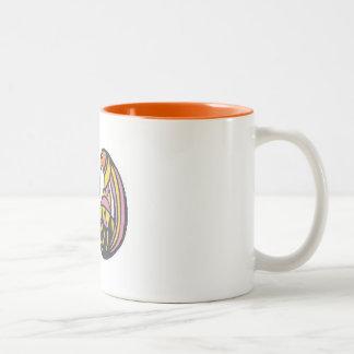 Taza de café del chirrido