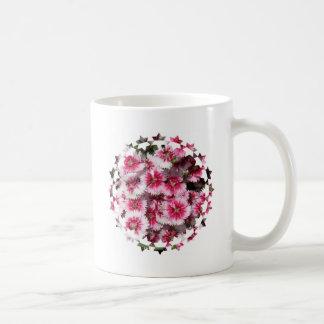 Taza de café del clavel