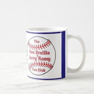 Taza de café del club de fans de DOJR