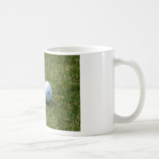 Taza de café del club de la pelota de golf