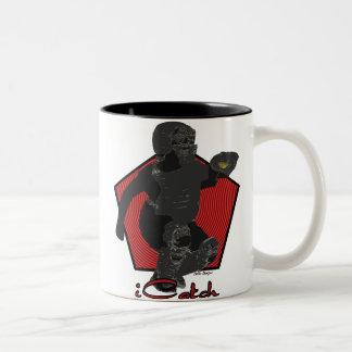 Taza de café del colector del softball de Fastpitc