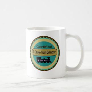 Taza de café del colector del tren del indicador d