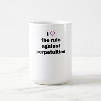 Taza de café del colegio de abogados: R.A.P.