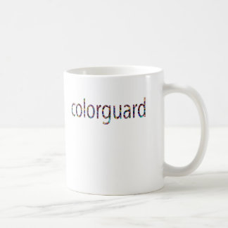 taza de café del colorguard