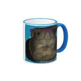 Taza de café del conejillo de Indias
