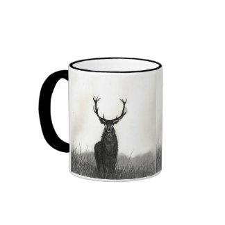 Taza de café del contraste de los animales