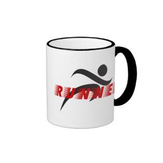 Taza de café del corredor