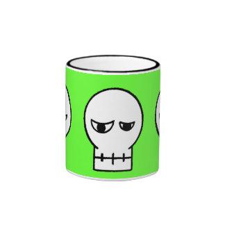 Taza de café del cráneo