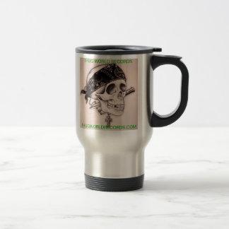 Taza de café del cráneo de los récores mundiales