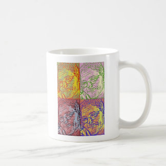 Taza de café del cuerno de Ryun