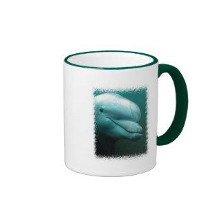 Taza de café del delfín de Bottlenose