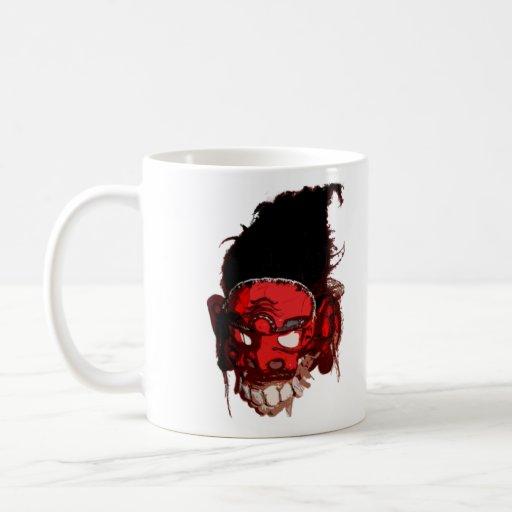 Taza de café del demonio