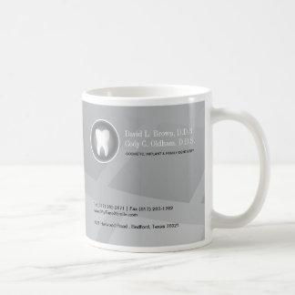 Taza de café del dentista