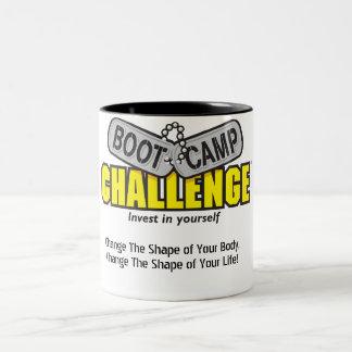 Taza de café del desafío de Boot Camp
