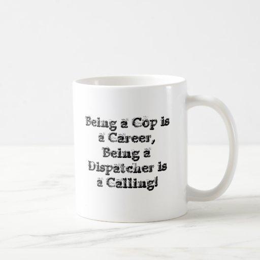 Taza de café del despachador