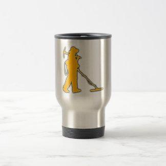 Taza de café del detectorista
